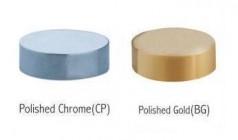 Capace decorative - aur si crom
