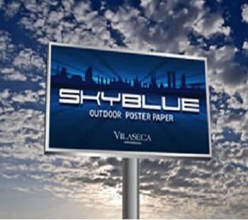 Hartie Poster Skyblue pentru Imprimabila Digital